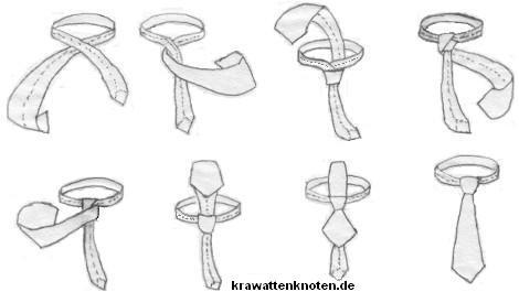 Der Manhattanknoten, eine Mischung aus ST. Andrew und Four-in-Hand Knoten. Er ist leicht zu erlernen, leicht asymmetrisch, selbstlösend und kann zu den meisten Hemdkragen getragen werden.