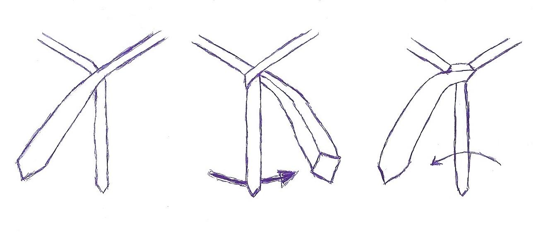 krawatte kent knoten