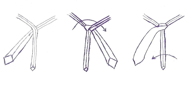 doppelter windsorknoten anleitung