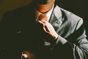 Wie man durch Krawatten auf andere wirkt