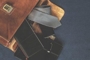 Gestreifte Krawatten gehören zu den den beliebtesten Krawattenmusterungen.